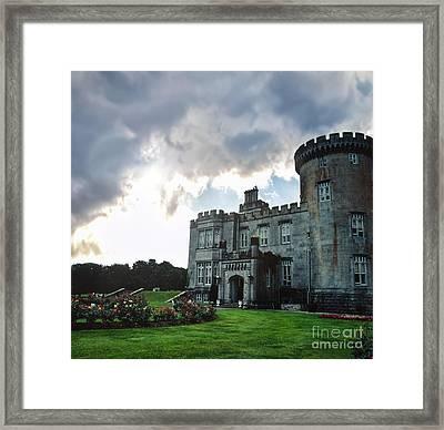Dromoland Castle Framed Print by Debra Millet