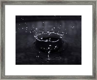 Drop Framed Print by Mandav  Prakash