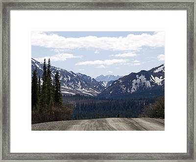Drop Off Framed Print by Tara Lynn