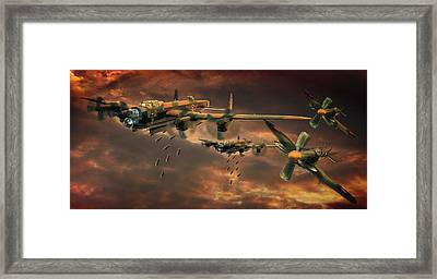 Drop Zone Framed Print