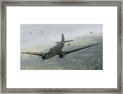 Drop Zone Victor Framed Print by Hangar B Productions