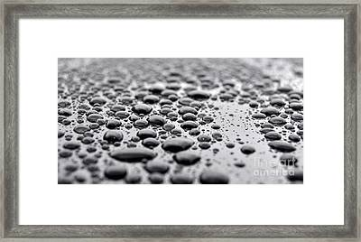 Droplets 1 Framed Print