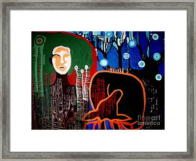 Dropped Framed Print by Amy Sorrell