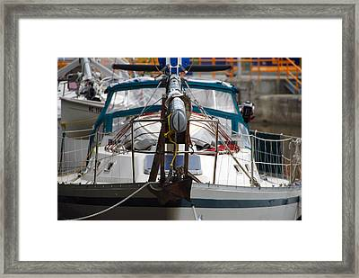 Dropped Mast Framed Print