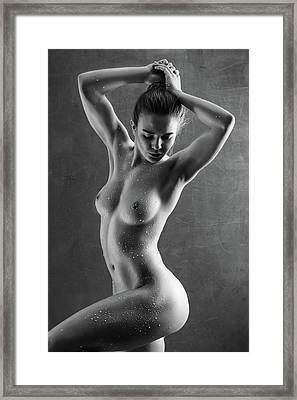 Drops Framed Print