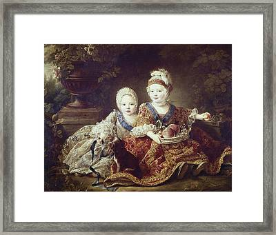 Drouais, Fran�ois Hubert 1727-1775. The Framed Print by Everett