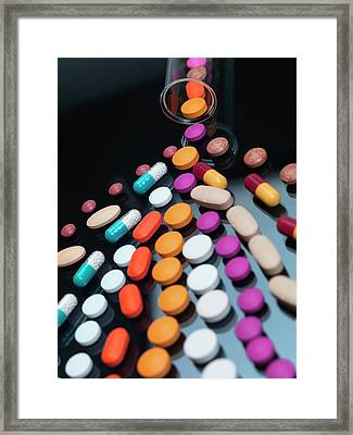 Drug Development Framed Print by Tek Image