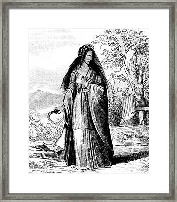 Druid Framed Print by Collection Abecasis