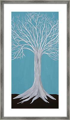 Druid Tree 2 Framed Print by Maura Satchell