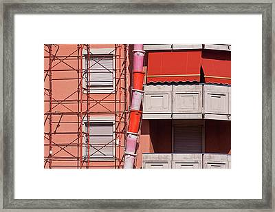 Drum Snake Framed Print