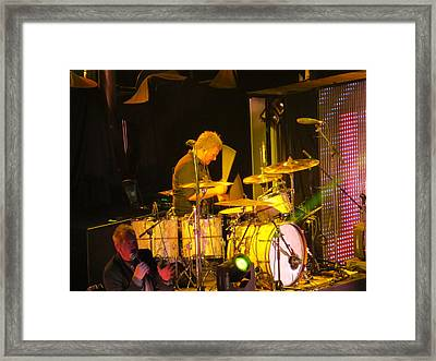 Drumer For Newsong Rocks Atlanta Framed Print by Aaron Martens