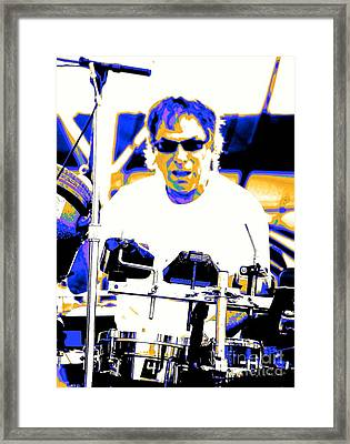 Drumming On The Edge Of Magic Framed Print