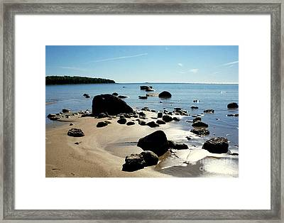 Drummond Shore 2 Framed Print