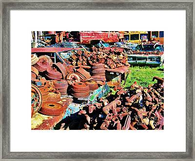 Drums Framed Print by Chuck  Hicks