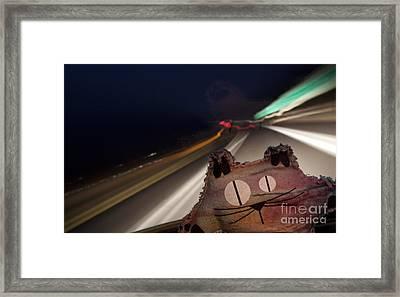 Drunk Driver Framed Print by Jeannette Hunt