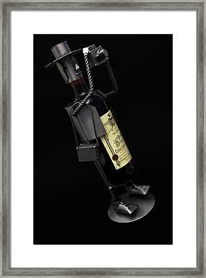 Drunken Tog Framed Print by Nigel Jones