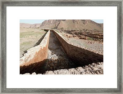 Dry Canal Framed Print by Thierry Berrod, Mona Lisa Production