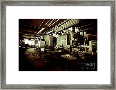 Dry Cleaning Plant Framed Print by Amy Cicconi