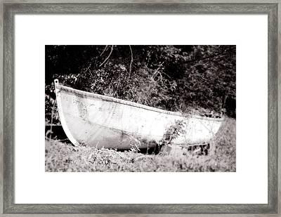 Dry Dock Framed Print