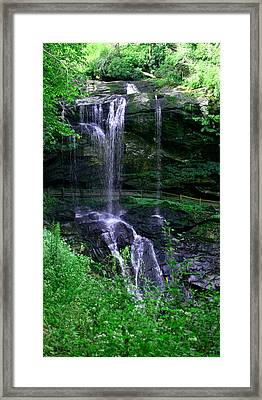 Dry Falls Framed Print by Cathy Harper