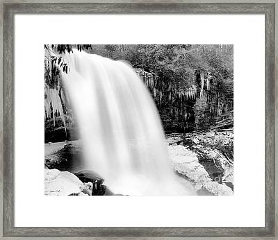 Dry Falls Winter 2006 Framed Print