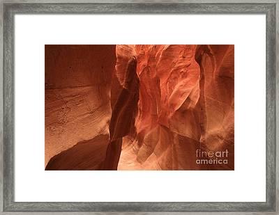 Dry Fork Glow Framed Print by Adam Jewell