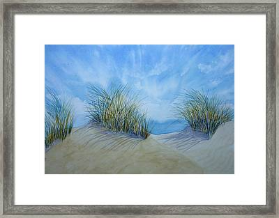 Dry Grass Framed Print