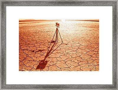 Dry Lake Photography Framed Print by Gregory Dyer