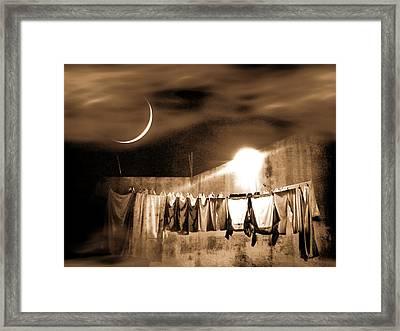 Dry Night Framed Print