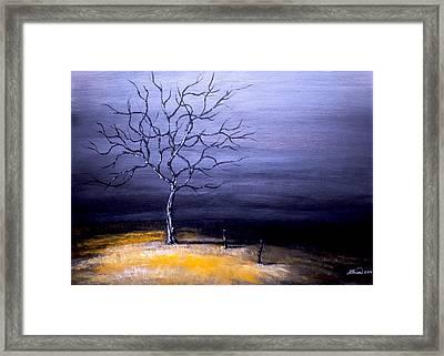 Dry Winter Framed Print