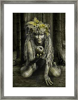 Dryad I Framed Print by David April