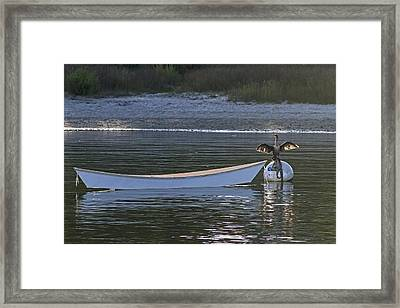 Drying Off Framed Print