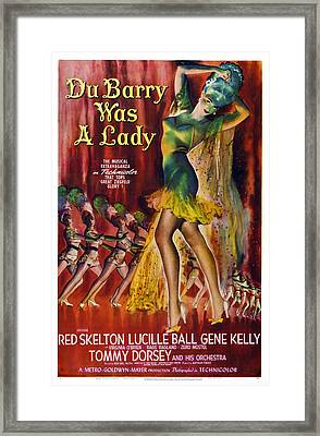 Du Barry Was A Lady, Us Poster, 1943 Framed Print by Everett