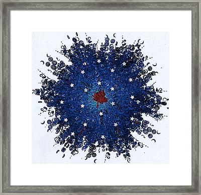 Dual Citizenship 1 Framed Print by First Star Art