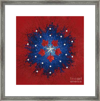 Dual Citizenship 2 Framed Print by First Star Art