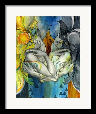 Colorful Abstract Framed Prints