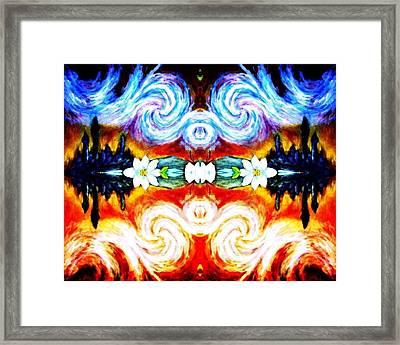Duality  Framed Print by Sebastian Pierre