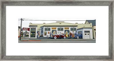 Duane Flatmo Mural, Eureka, Humboldt Framed Print by Panoramic Images