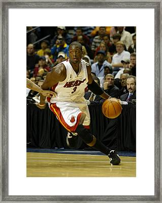 Framed Print featuring the photograph Duane Wade by Don Olea
