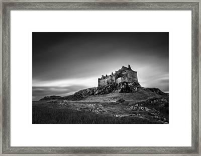 Duart Castle Framed Print by Dave Bowman
