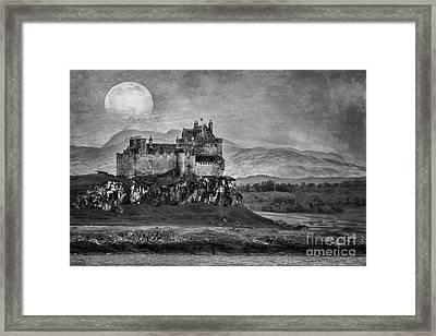 Duart Castle Scotland Framed Print by Juli Scalzi