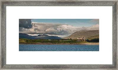 Framed Print featuring the photograph Duart Castle by Sergey Simanovsky