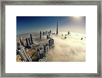 Dubai Framed Print by © Naufal Mq