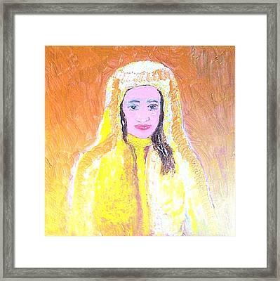 Dubai Beauty Framed Print by Richard W Linford