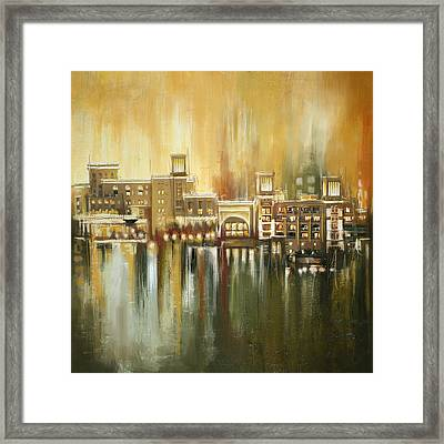 Dubai Monumental Art Framed Print