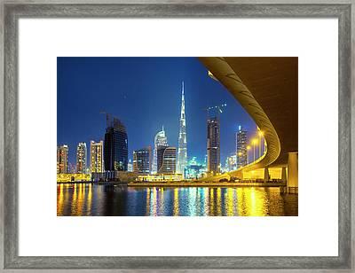 Dubai Framed Print by Xavierarnau