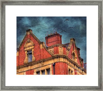 Dublin House Roof Top Framed Print by Juli Scalzi