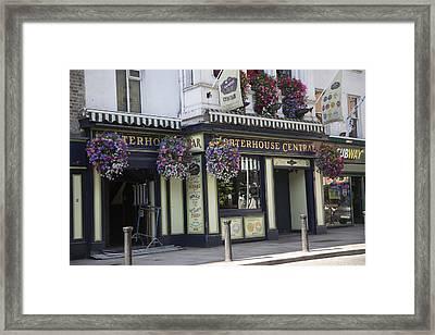 Dublin Ireland City Street Framed Print by Betsy Knapp