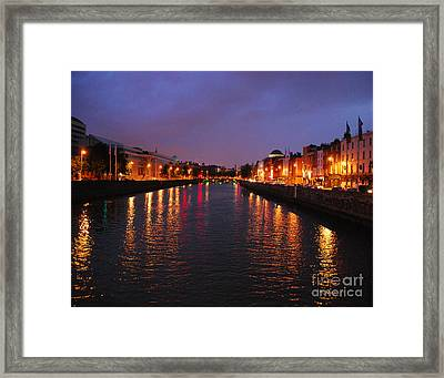 Dublin Nights Framed Print