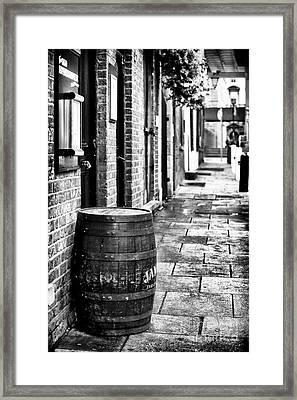 Dublin Street Framed Print by John Rizzuto